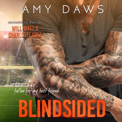 Blindsided Audio Cover