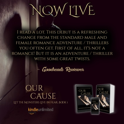 Our Cause Release Blog Tour